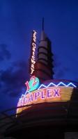 Megaplex movie theater