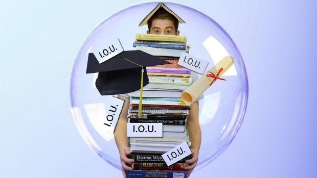 Student debt bubble