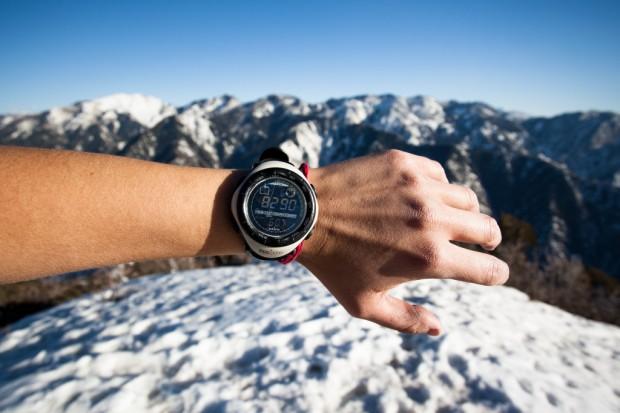 The top of Grandeur Peak, 8,290 feet