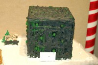 Borg Cube gingerbread house