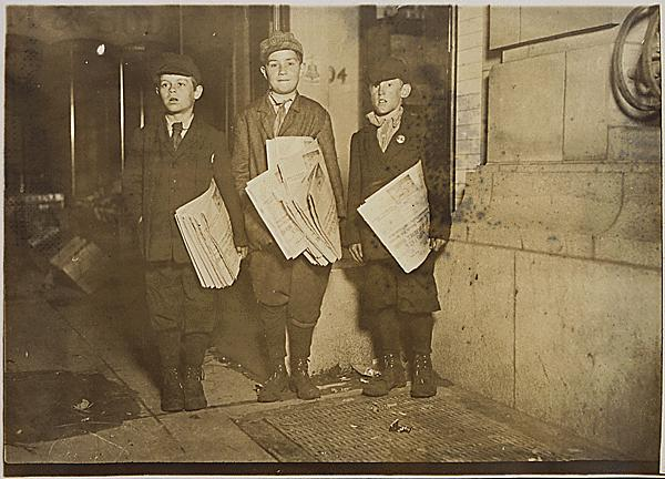 Newspaper boys