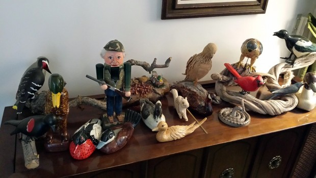 Wood carvings by Wally Rupp
