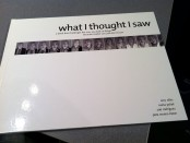 "Photo of ""what i thought i saw"" book"