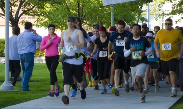 Runners starting the 5KRunDead