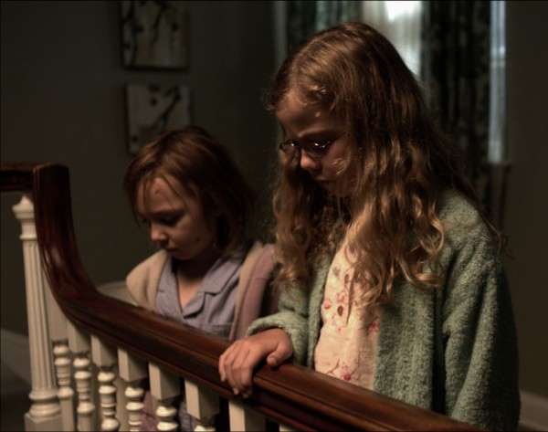 Child actors Isabelle Nélisse and Megan Charpentier give good performances in 'Mama.'
