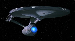 An image of the USS Enterprise from Star Trek