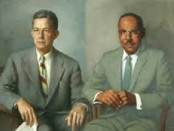 Dr. Alfred Blalock and Surgical Research Technician Vivien Thomas