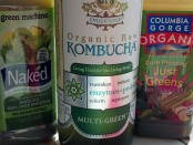 Green drinks from grocery store