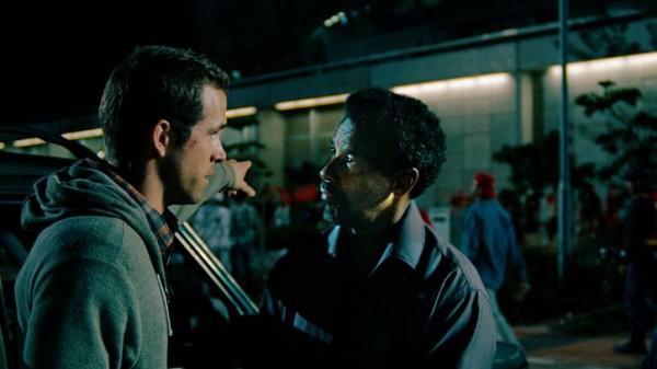 "Ryan Reynolds and Denzel Washington in ""Safe House"""
