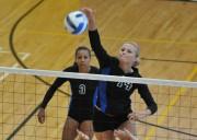 SLCC Volleyball's Brittani Cole