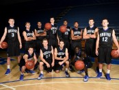 SLCC men's basketball team photo