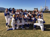 Bruin softball victory photo