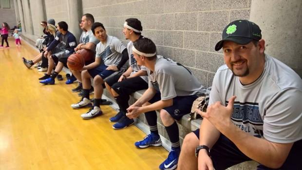 Sports Rally basketball