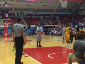 JuWan Buchanan at the free-throw line