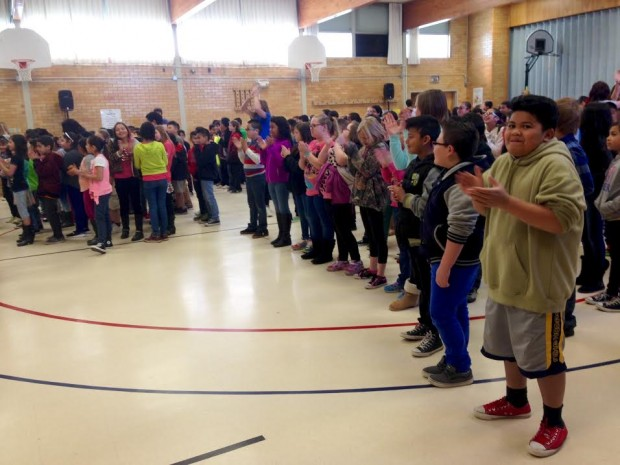 Stansbury students participate