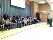 Waddoups talks to Bruin athletes