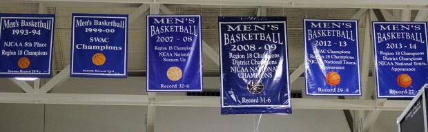 SLCC championship banners