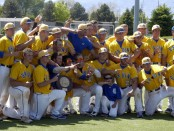 SLCC baseball team celebrates Region 18 win