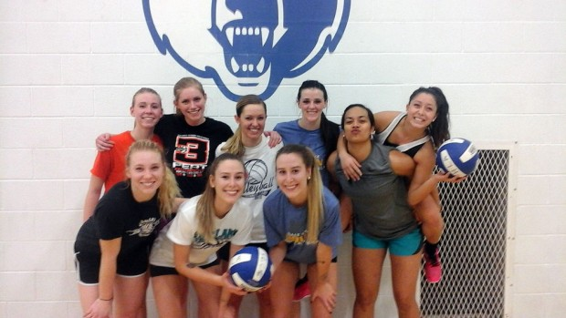 SLCC volleyball team photo