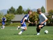 Men's soccer vs Sheridan