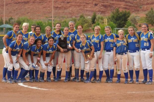 The 2013 NJCAA National Runner-Up SLCC Softball team.