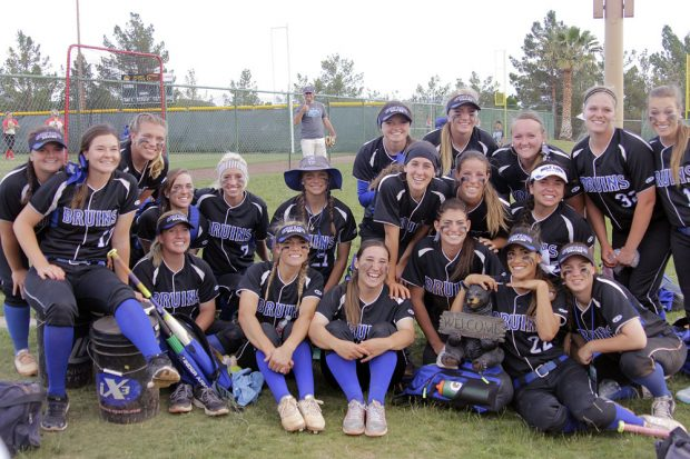 SLCC softball team photo