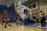 Bruins vs NIC women's basketball Mercedes Riggs