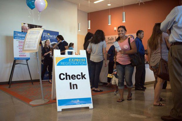Express registration at West Valley Center