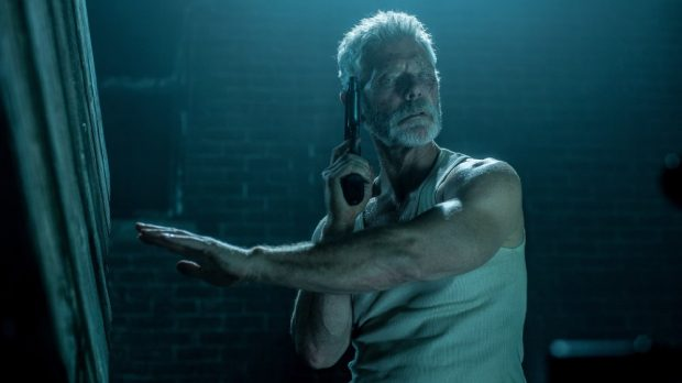 Stephen Lang as the Blind Man