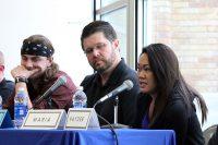 Right to left: Maria, Jason and Johnathan