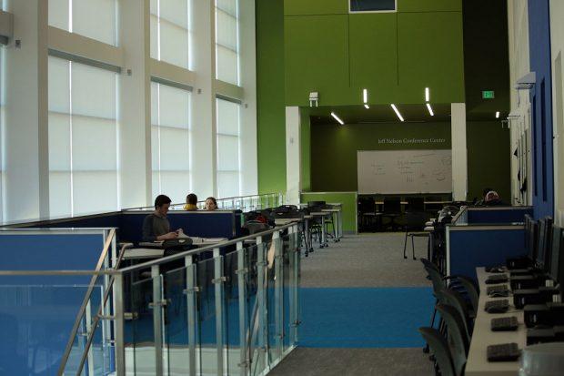 Dumke STEM Center second floor