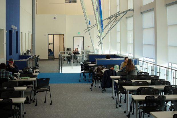 Dumke STEM Center study area