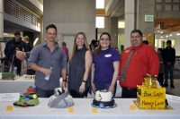 Edible Books Contest judges