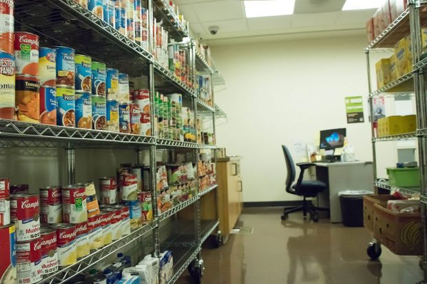 New SLCC food pantry