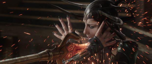 "Cate Blanchett as Hela in ""Thor: Ragnarok"""