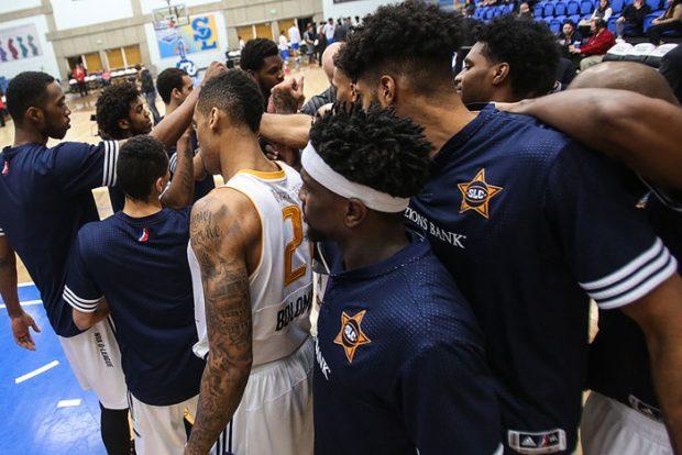 SLC Stars huddle