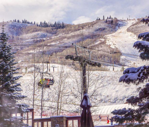Marriott ski lift