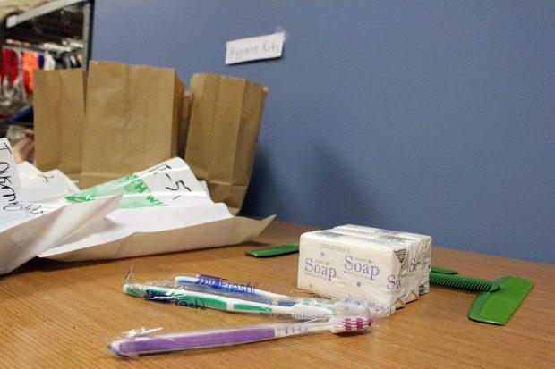 Bruin Pantry hygiene kits