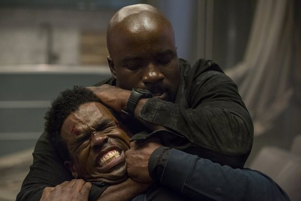 Mike Colter and Mustafa Shakir