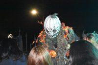 Giant jack-o'-lantern