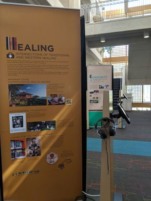 """""""Native Voices"""" healing section"""