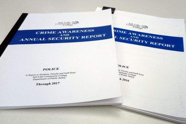 2016 and 2017 SLCC security reports
