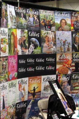 Edibles booth