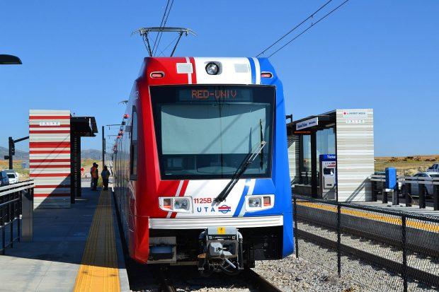 Red Line Trax train