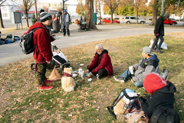 Salt Lake City homeless