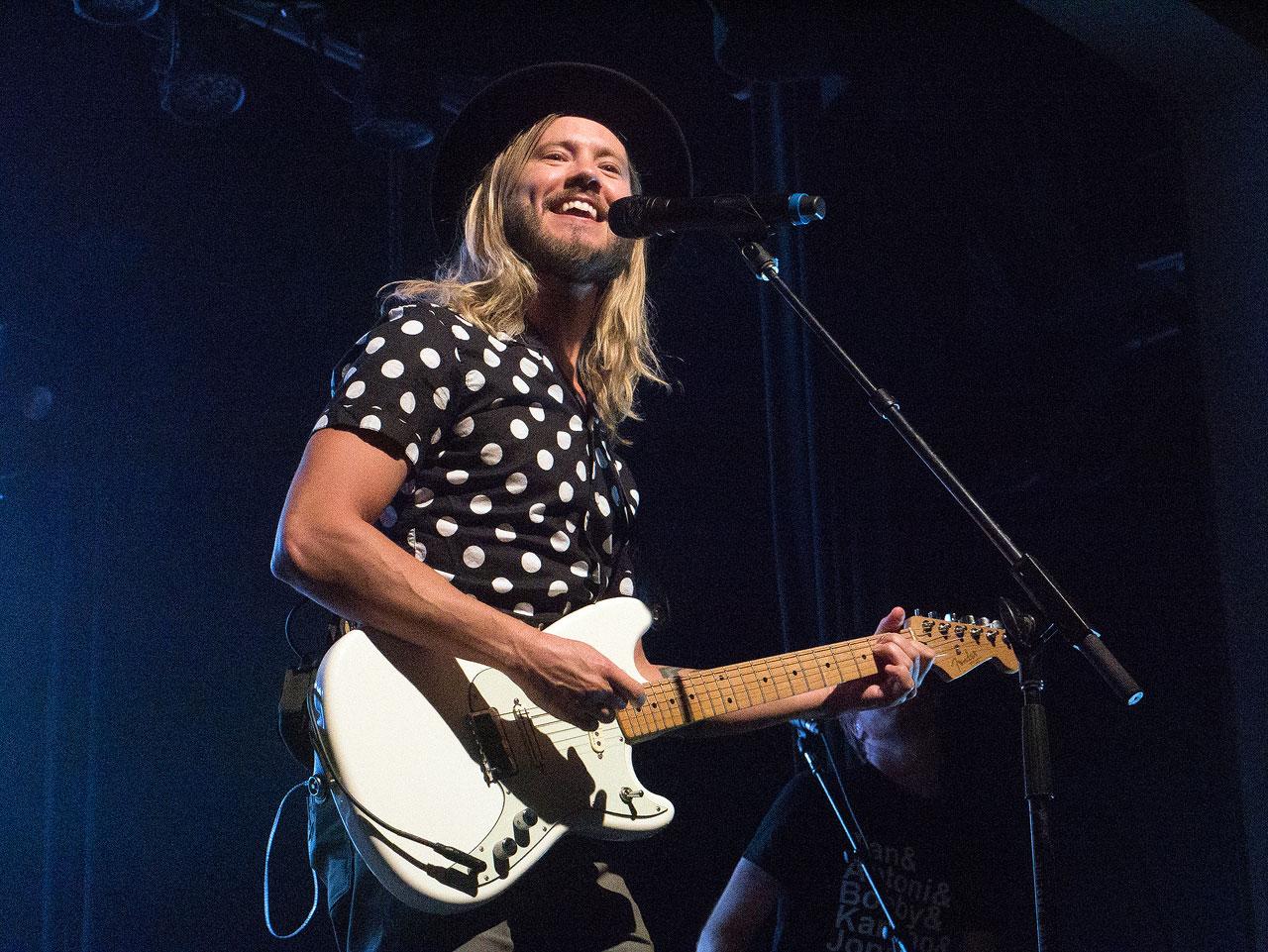 Trevor Terndrup with guitar