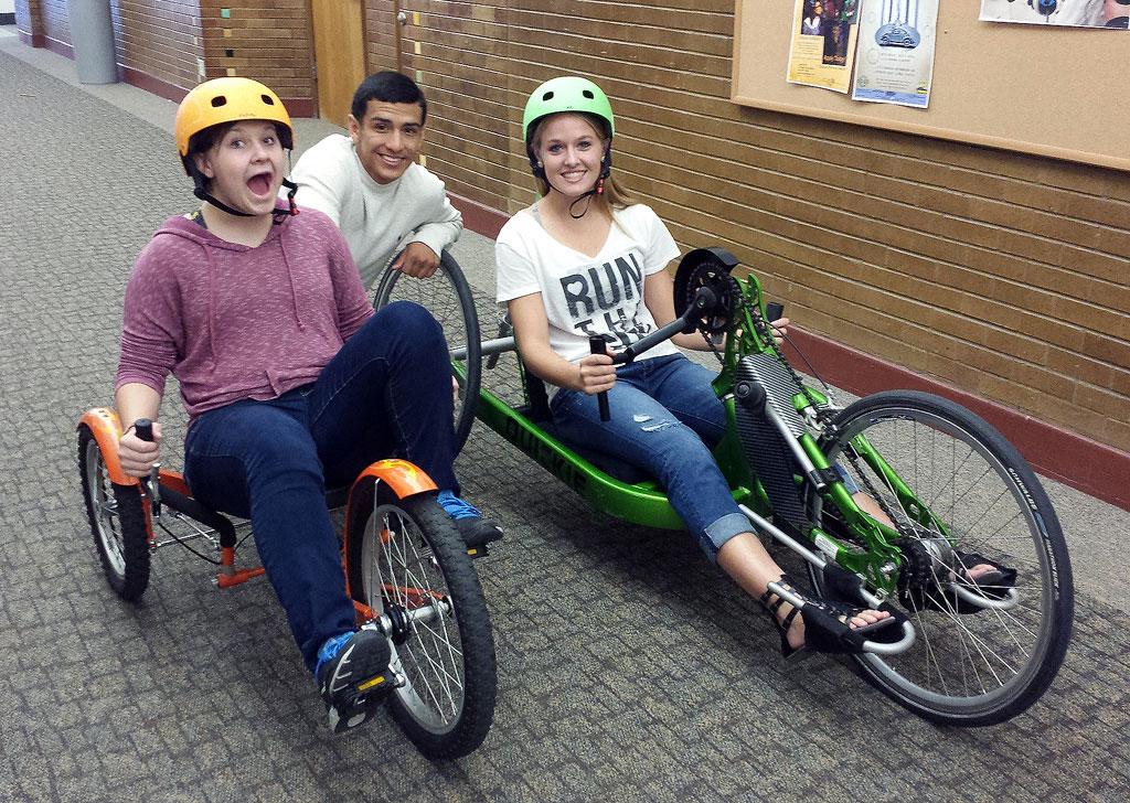 Adaptive bicycles