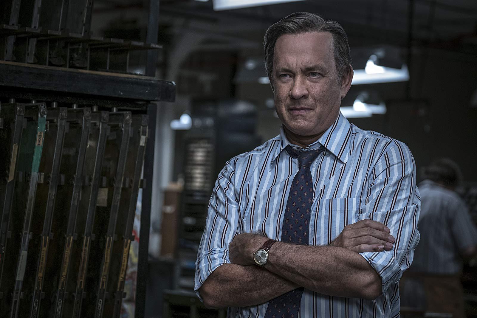 Tom Hanks as Ben Bradlee