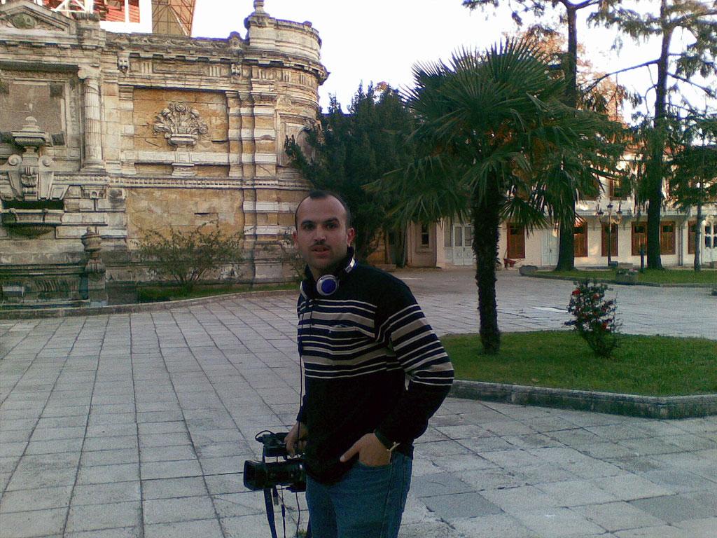 Ali Aedan in college