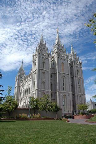 LDS Temple in Salt Lake City